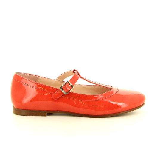 Beberlis kinderschoenen ballerina rood 11255