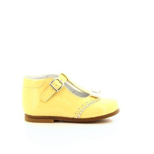Beberlis kinderschoenen ballerina geel 171157