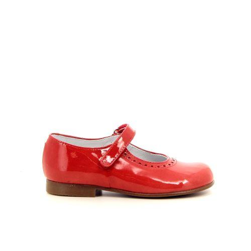 Beberlis kinderschoenen ballerina rood 183718