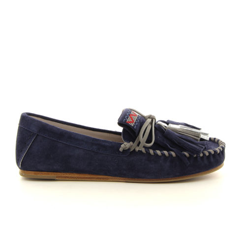 Kennel & schmenger damesschoenen mocassin blauw 10308