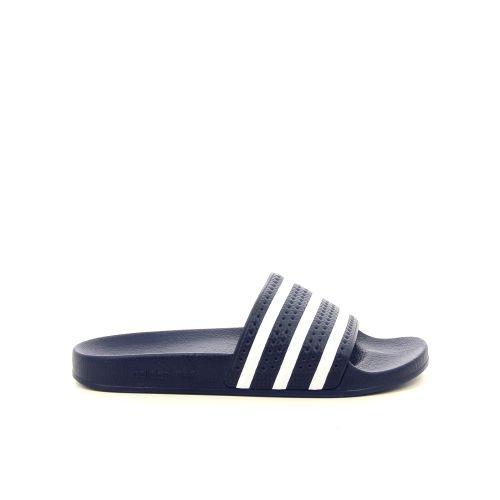 Adidas herenschoenen sleffer donkerblauw 191395