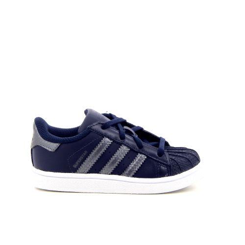 Adidas kinderschoenen sneaker blauw 176240