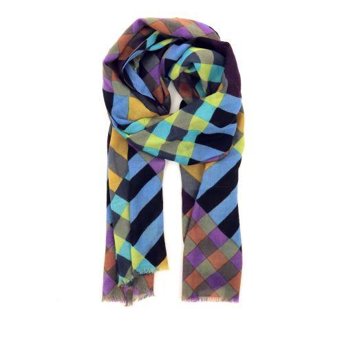 Scarf accessoires sjaals blauw 190277