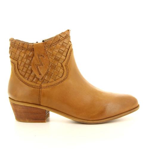 Spm damesschoenen boots cognac 98885