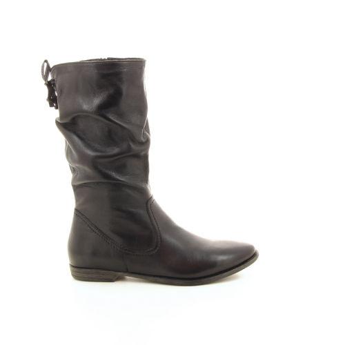 Spm damesschoenen boots zwart 18676