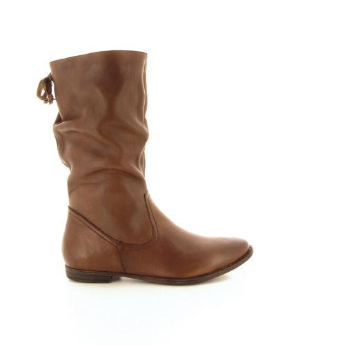 Spm damesschoenen boots cognac 18676