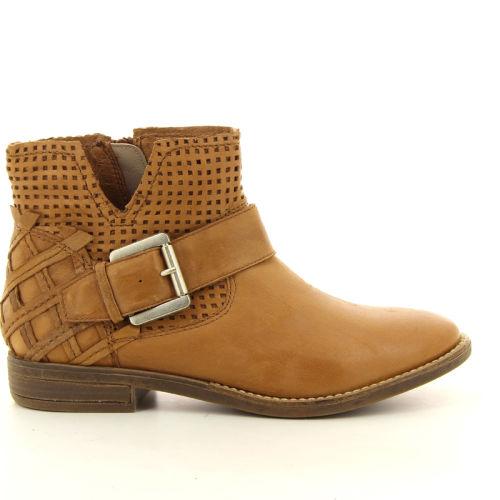 Spm damesschoenen boots cognac 98874
