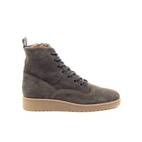 Spm damesschoenen boots groen 177423