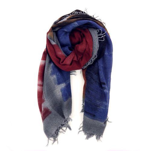 Faliero sarti accessoires sjaals lichtblauw 190450