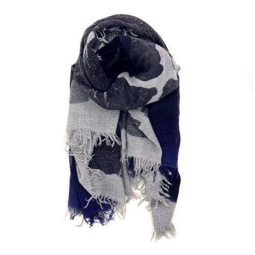 Faliero sarti accessoires sjaals grijs 190455