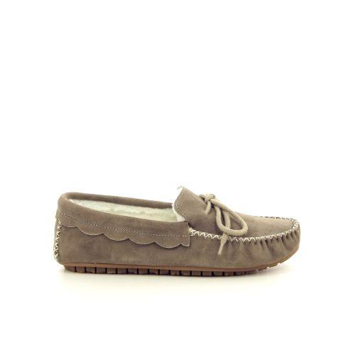 Bamanellos damesschoenen pantoffel beige 189837