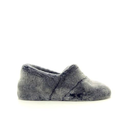 Bamanellos damesschoenen pantoffel grijs 189835