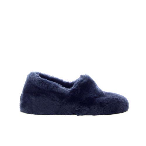 Bamanellos damesschoenen pantoffel blauw 189835