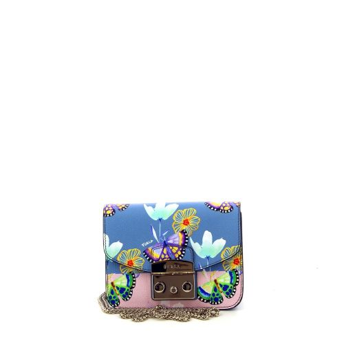 Furla  handtas lichtblauw 187082