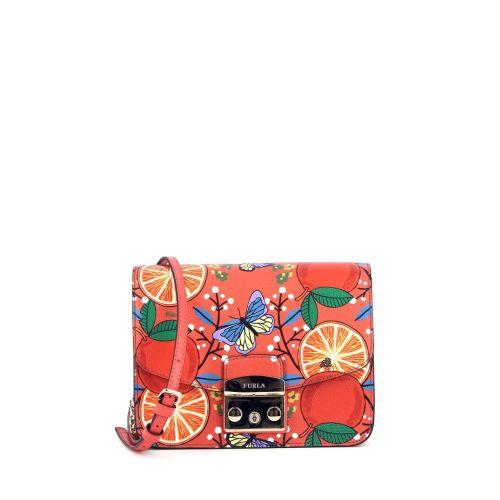 Furla tassen handtas oranje 182362