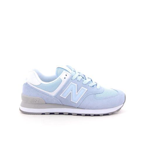 New balance damesschoenen sneaker blauw 192324