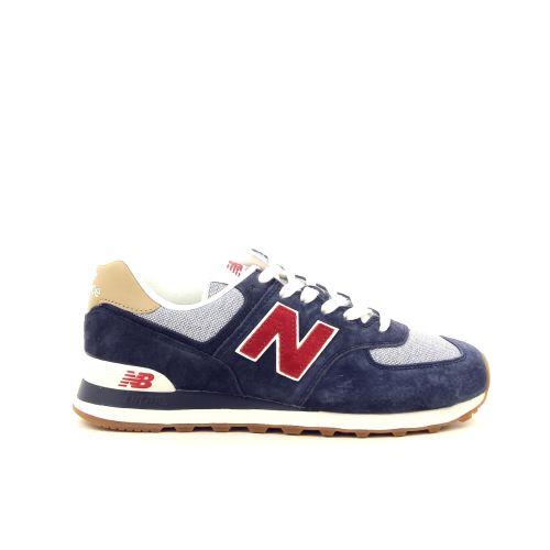 New balance herenschoenen sneaker blauw 192330