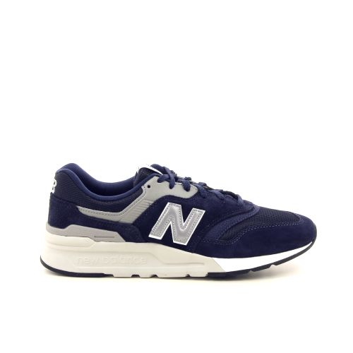 New balance herenschoenen sneaker blauw 192326