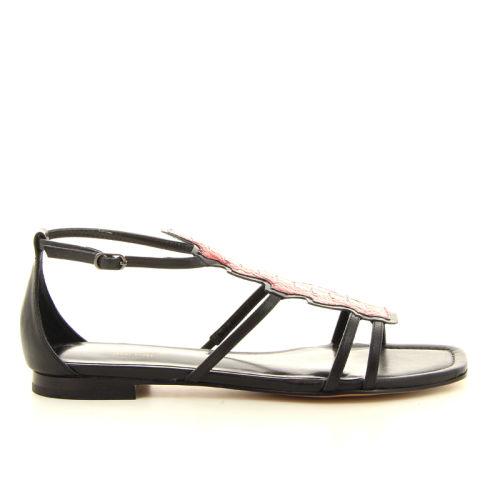 Lola cruz damesschoenen sandaal zwart 12336