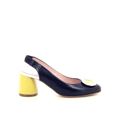 Le babe damesschoenen sandaal donkerblauw 195082