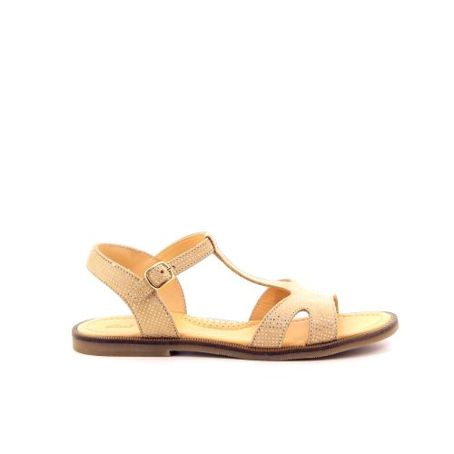 Ocra solden sandaal platino 192846