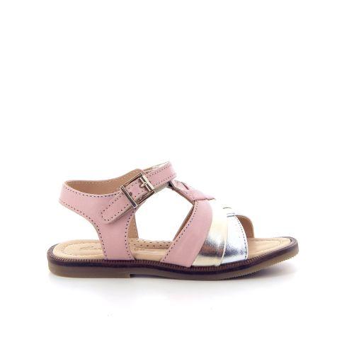 Ocra solden sandaal poederrose 182255