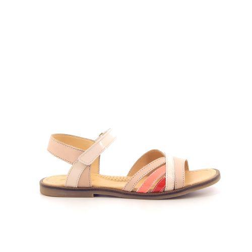 Ocra solden sandaal poederrose 192847