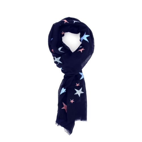 Moment by moment accessoires sjaals blauw 178616
