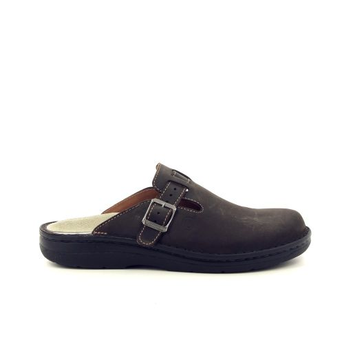 Berkemann herenschoenen pantoffel bruin 192643