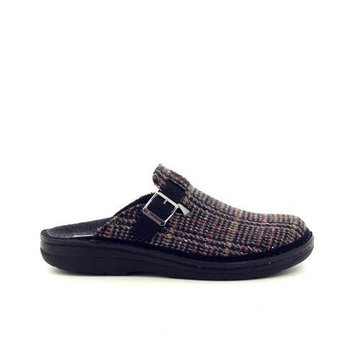 Berkemann  pantoffel zwart 188123