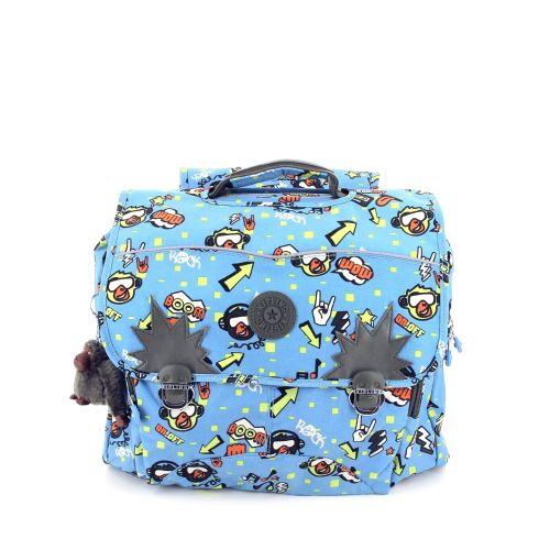 Kipling tassen boekentas jeansblauw 197805