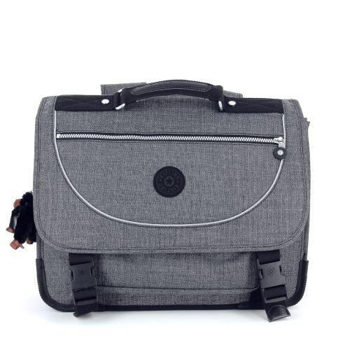 Kipling tassen boekentas grijs 176851