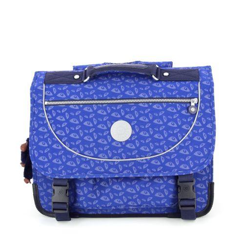 Kipling tassen boekentas blauw 176851