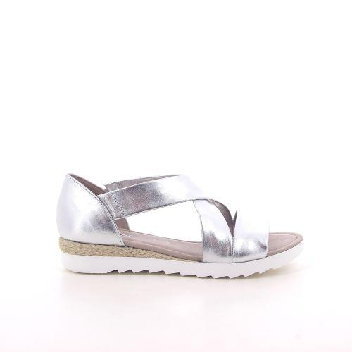 Gabor damesschoenen sandaal zilver 191628