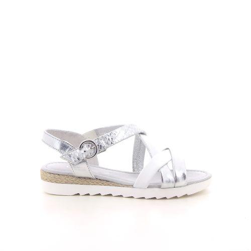 Gabor damesschoenen sandaal zilver 193464