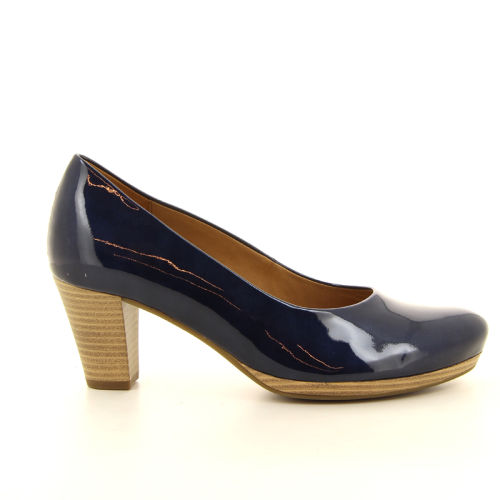 Gabor damesschoenen pump blauw 10089