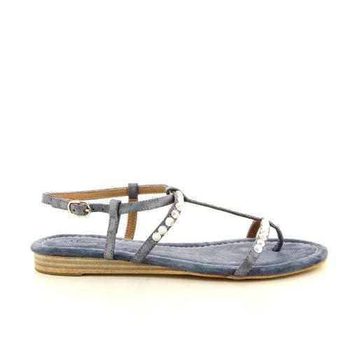 Alma en pena damesschoenen sandaal jeansblauw 12297