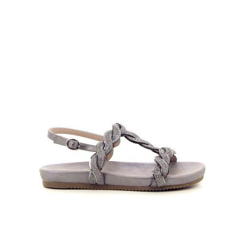 Alma en pena damesschoenen sandaal zilver 184468