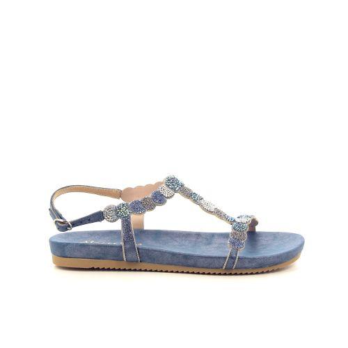 Alma en pena damesschoenen sandaal blauw 195016