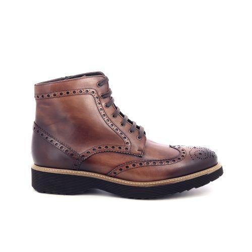 Pertini herenschoenen boots cognac 200920