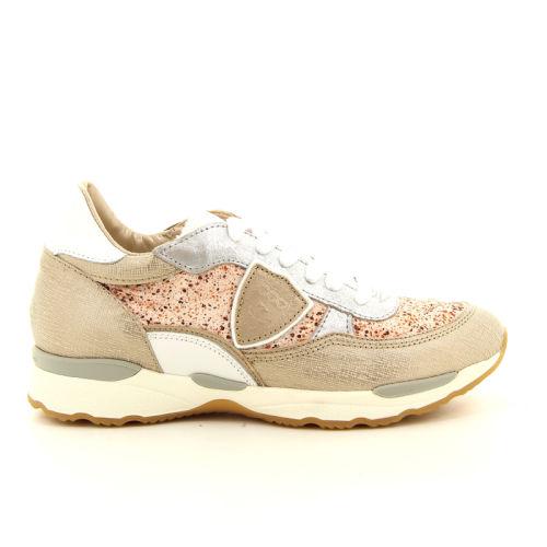 Philippe model damesschoenen sneaker licht brons 97985