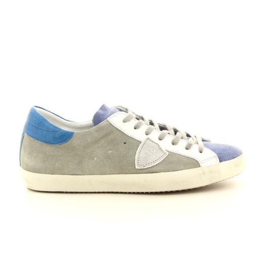 Philippe model herenschoenen sneaker lichtblauw 98028