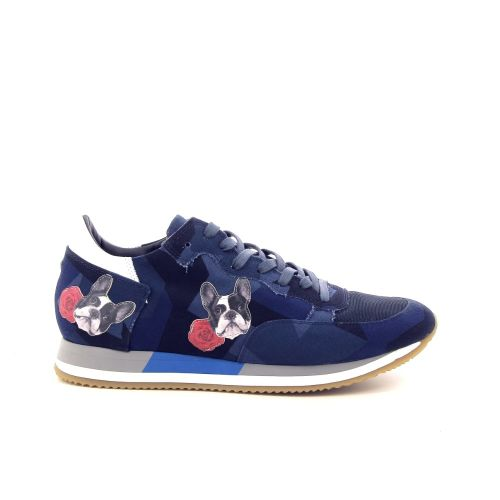 Philippe model herenschoenen sneaker donkerblauw 181365