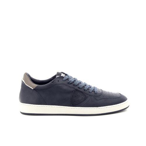 Philippe model herenschoenen sneaker blauw 176358