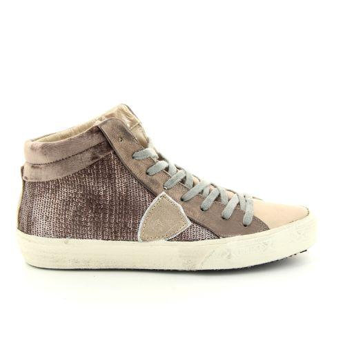 Philippe model damesschoenen sneaker brons 93159
