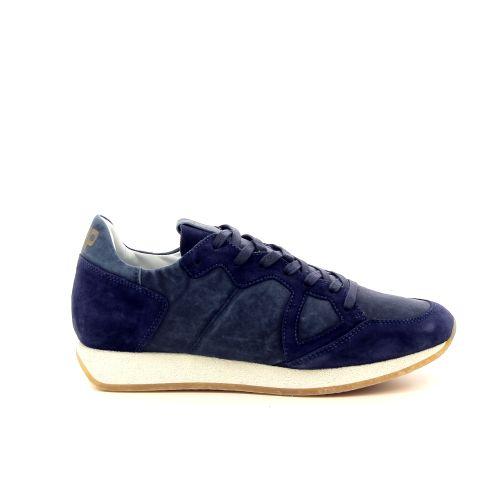 Philippe model  sneaker blauw 191766
