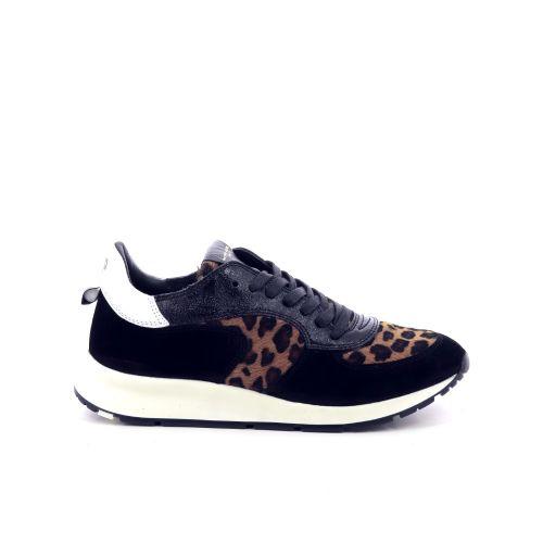 Philippe model damesschoenen sneaker zwart 198578