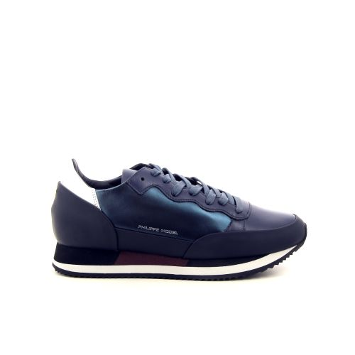 Philippe model damesschoenen sneaker donkerblauw 176511