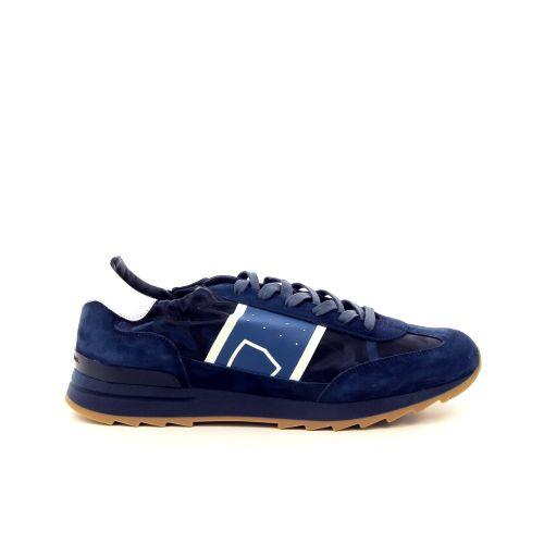 Philippe model herenschoenen sneaker blauw 181360