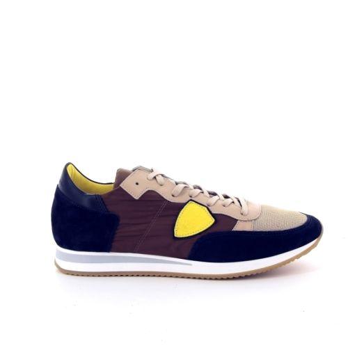 Philippe model herenschoenen sneaker blauw 168719